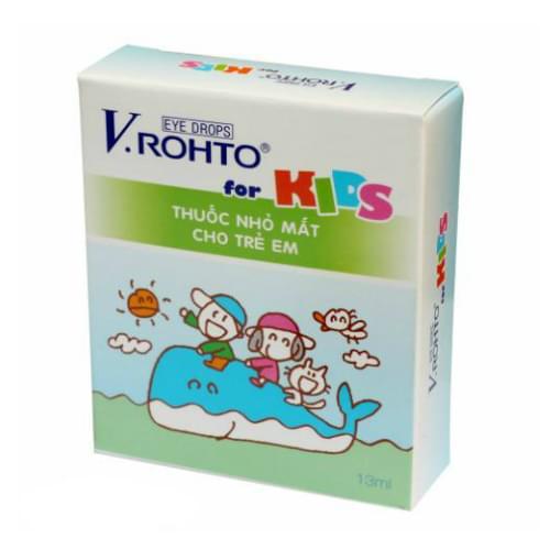 V.Rohto Eye Drops for KID