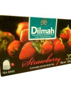 Black Tea Strawberry Dilmah