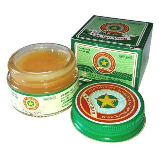 Vietnam Golden Star Balm OPC