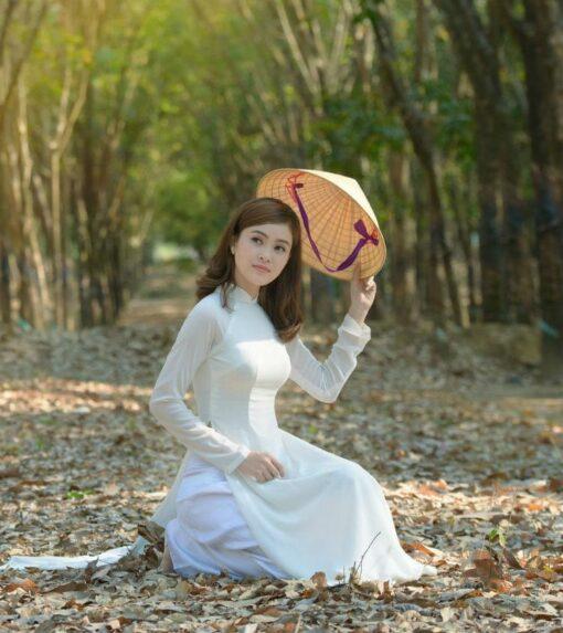 Ao Dai Vietnam Online Shop Student Ao Dai 3