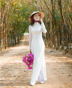 Ao Dai Vietnam Online Shop Student Ao Dai2