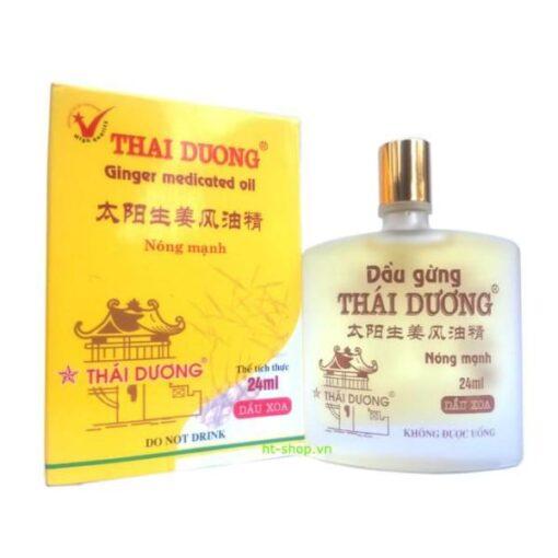 Thai Duong Ginger Medicated Oil