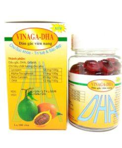 Vietnam Gac Oil Capsule Vinaga DHA