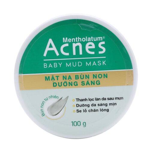 acnes mentholatum baby mud