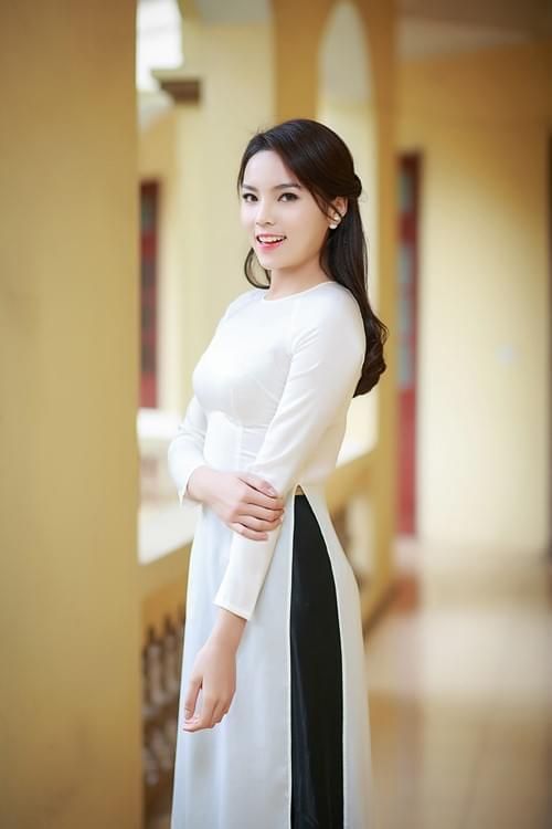 The Vietnam Ao Dai With Skirt