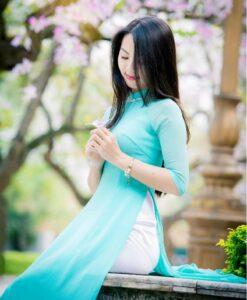 ao-dai-vietnam-long-dress-sky-blue-double-layers