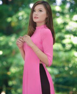 ao-dai-vietnam-tailoring-shop-pink-dress