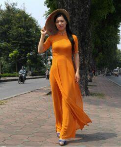 coral-chiffon-ao-dai-tunic-vietnam-tailor