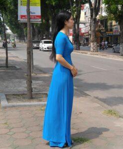 vietnam-tunic-custom-made-caribbean-chiffon