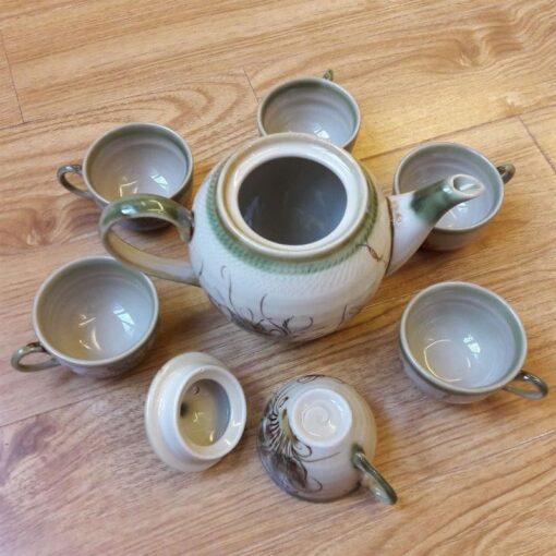 bat-trang-ceramic-tea-sets-eel-skin-glaze-vietnam