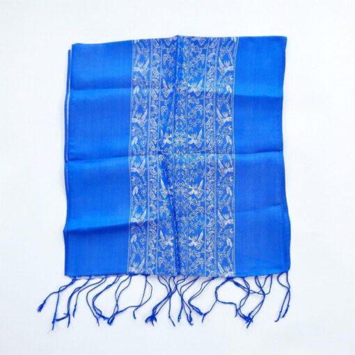Vietnam Natural Silkworm Women Scarf Double Layers