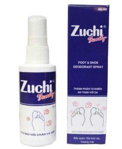 Organic Deodorant Zuchi Family Foot Spray