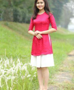 Ao Dai Cach Tan Van Phuc in New Design