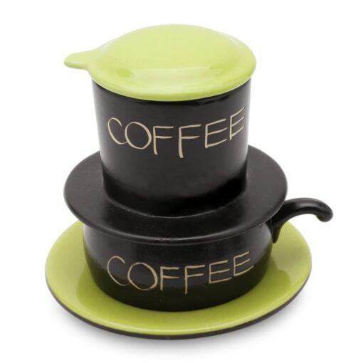 Green Gravity Ceramic Coffee Filter Bat Trang
