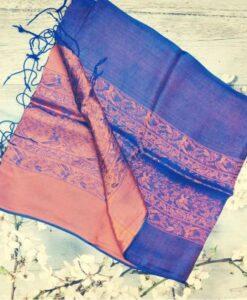 Vanphuc Traditional Natural Silkworm Women Scarves 2