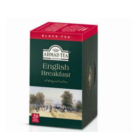 Ahmad London English Breakfast Tea Box