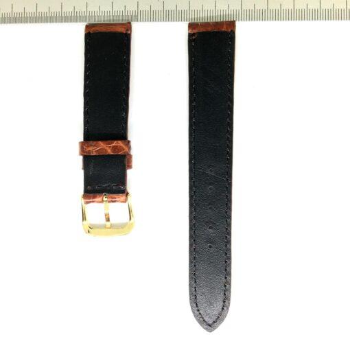 Wrist Watch Strap Crocodile 18mm 2
