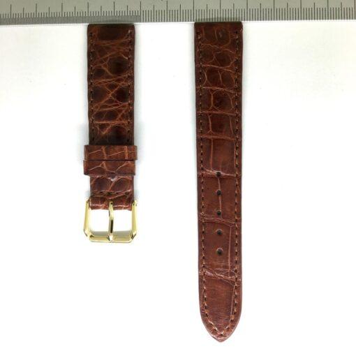 Wrist Watch Strap Crocodile 18mm