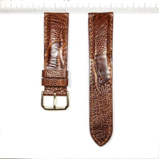 Ostrich Legs Skin Wrist Watch Strap 22mm