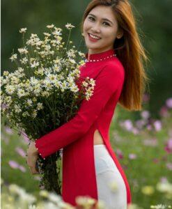 Traditional Vietnamese Clothing Ao Dai 1