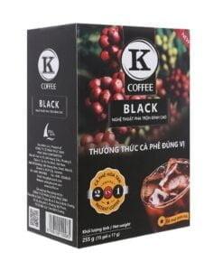 Vietnam Instant Black K Coffee Phuc Sinh