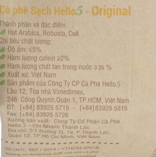 Original Hello 5 Coffee 3