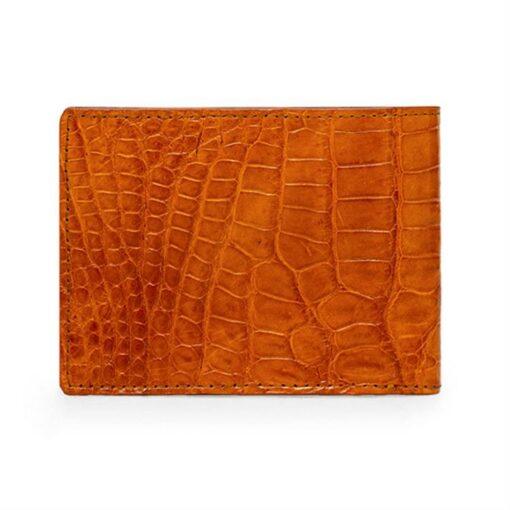 crocodile leather wallet belly skin