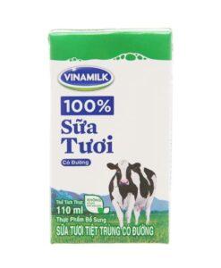 Fresh Milk With Sugar Vinamilk