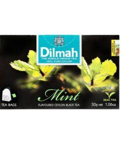 Mint Flavored Ceylon Black Tea