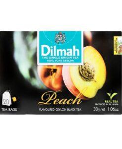 Peach Flavored Ceylon Black Tea