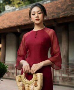 Modern Ao dai dress