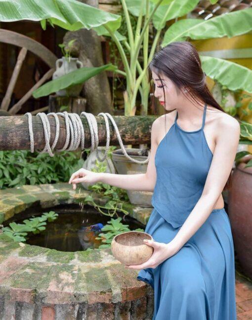 Neon Blue Ao Yem Vietnam 2