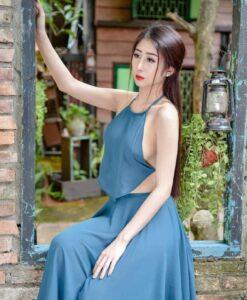 Neon Blue Ao Yem Vietnam 10